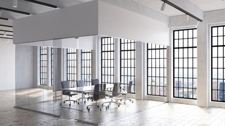 Spacious Office Concept